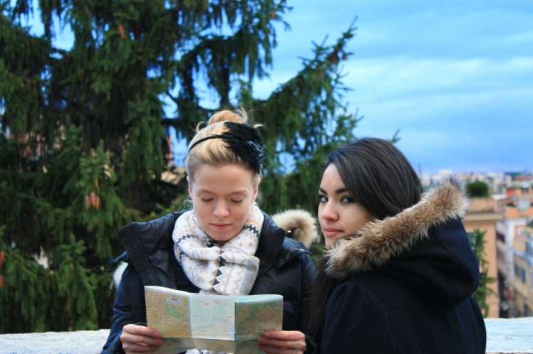 Céline s'improvise guide touristique