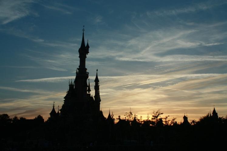 Disneyland Paris sunset !