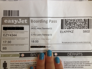 Billet avion  Easyjet Nice-Lyon