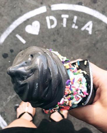 black ice cream LA